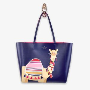 Kate Spade SPICE THINGS UP LUVVIE LEATHER TOTE